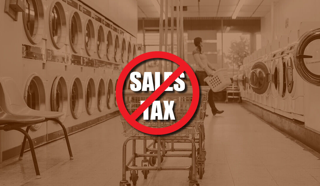 Why Should Self-Service Laundries Remain Exempt From Sales Tax