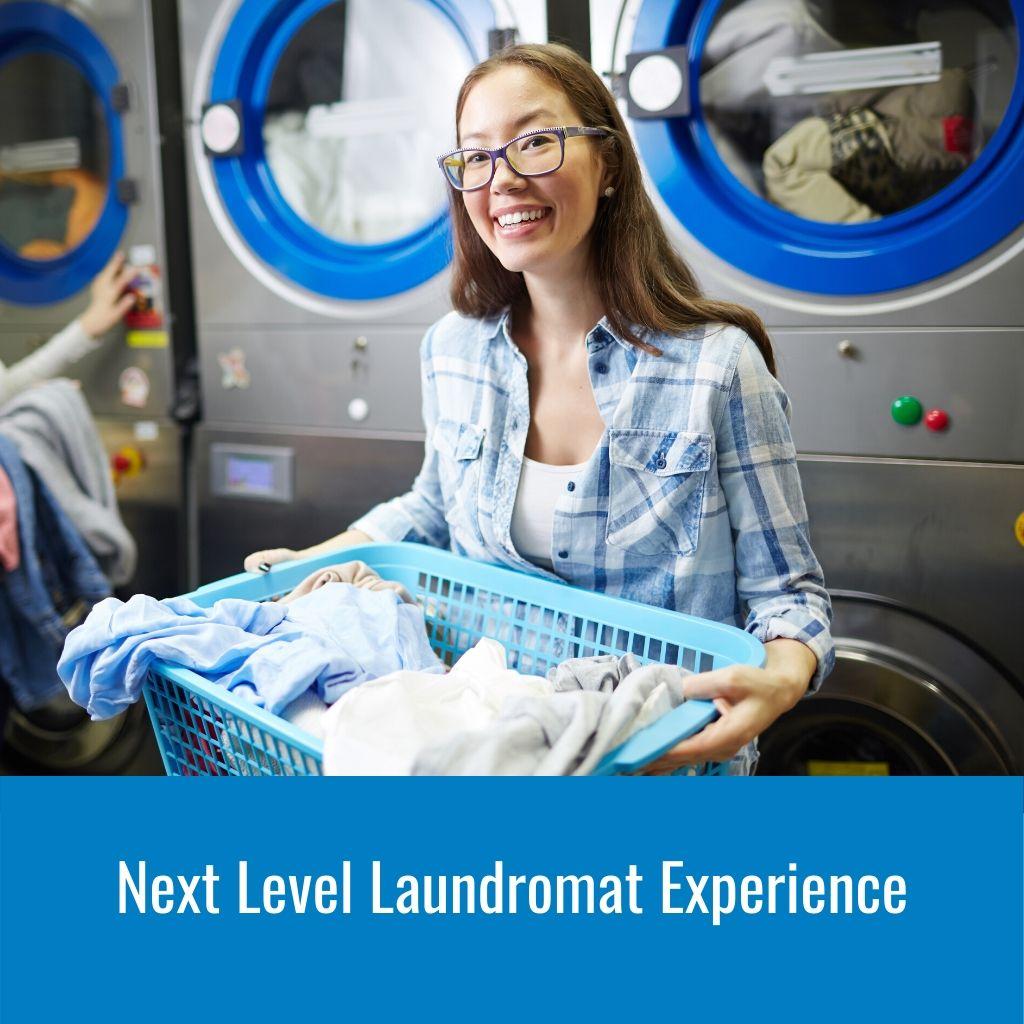 Next Level Laundromat Experience 1024X1024px